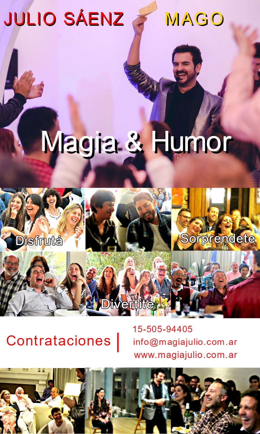 Shows de Magia para Adultos